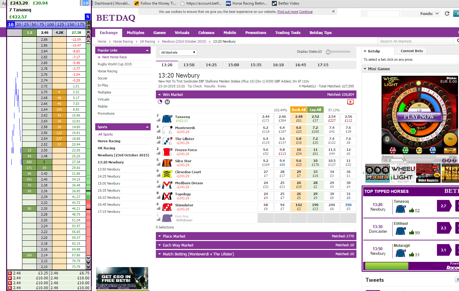 Betdaq Trading Strategies