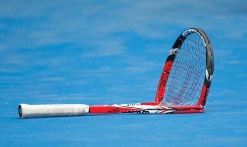 Tennis Traders Broken Racket