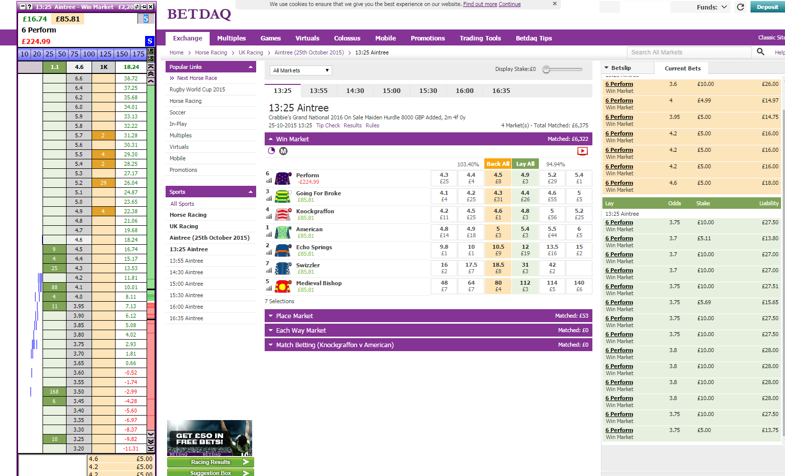 Betting assistant for betdaq commission martin johnson england rugby coach betting