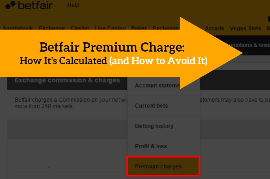 Betfair Premium Charge Calculation