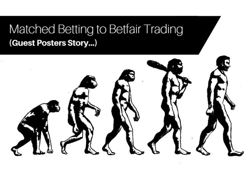 matched betting to betfair trading Laurence story