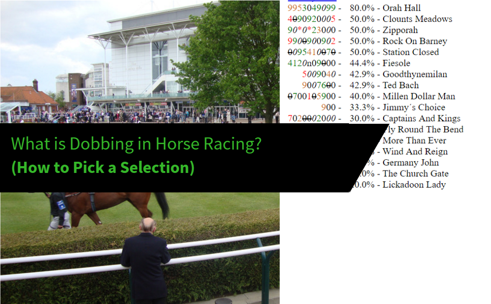 What is dobbing in horse racing