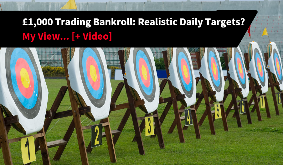 Daily Targets Trading Bank Betfair