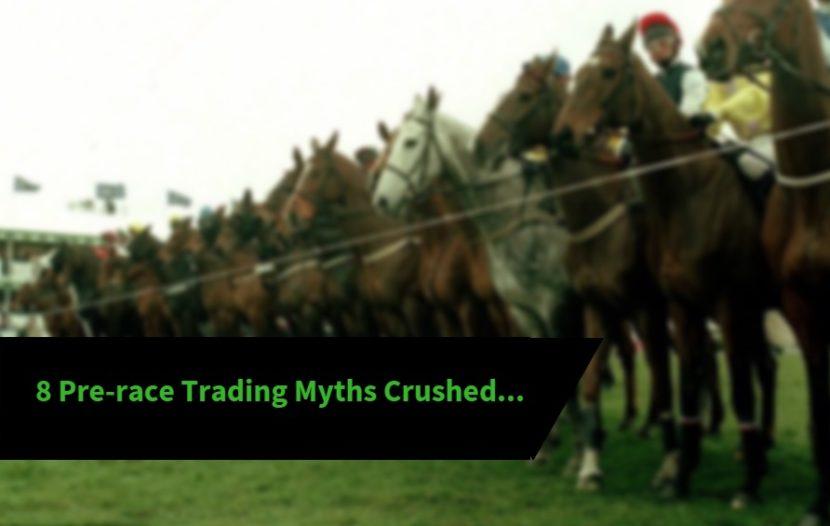 pre race trading Betfair