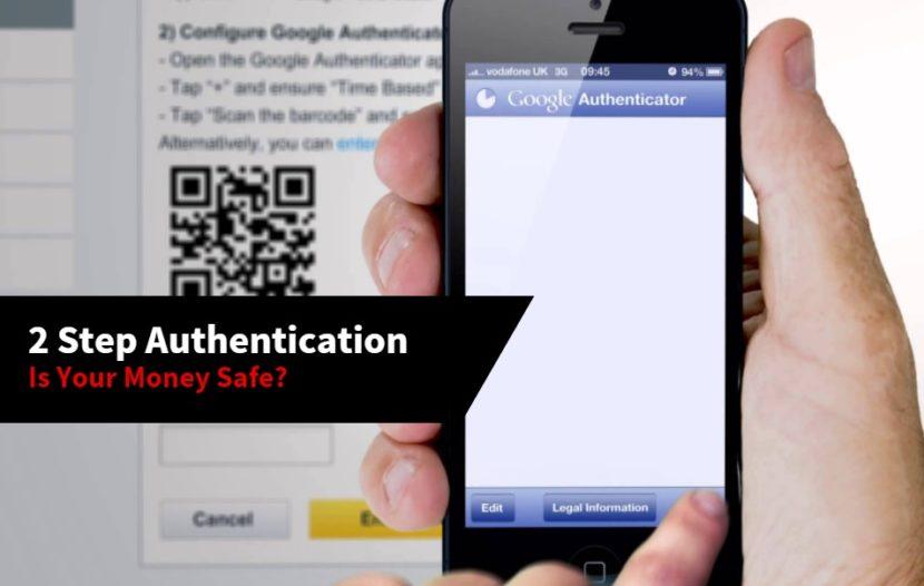 2 step authentication Betfair