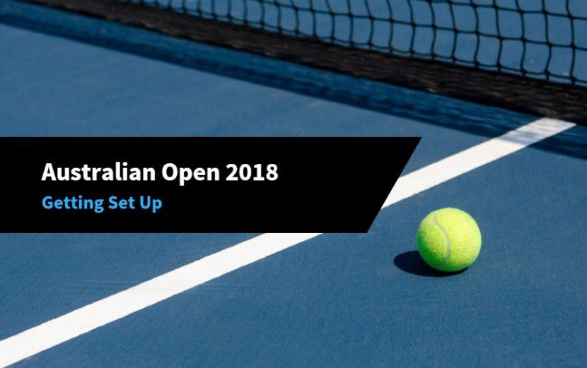 Australian Open Tennis 2018 Trading