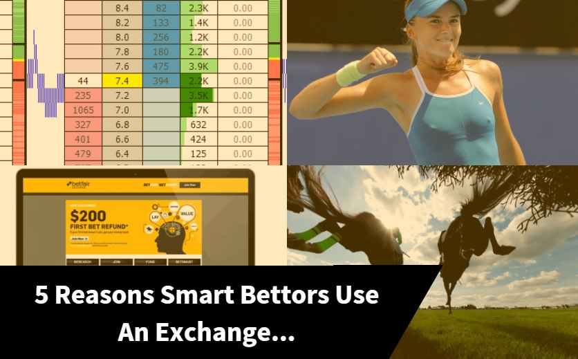 5 Reasons Smart Bettors Use An Exchange...
