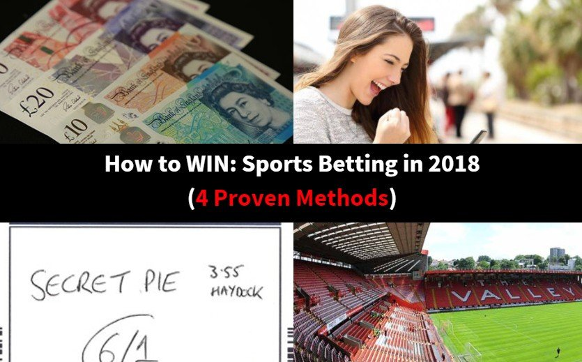 How to WIN: Sports Betting (4 Proven Methods) -