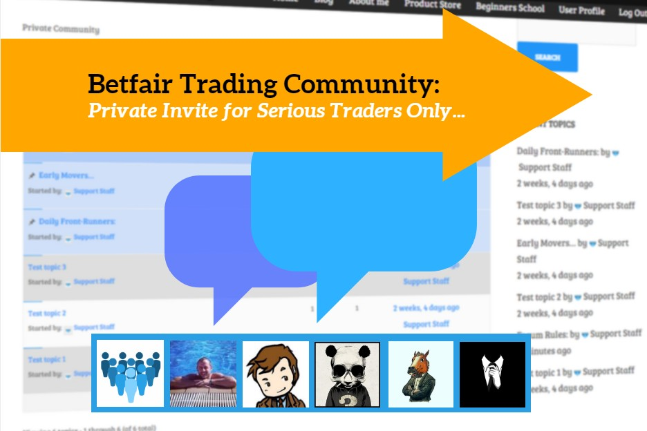 Betfair Trading Community Forum - Caan Berry