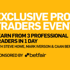 Exclusive Betfai Traders Event 1