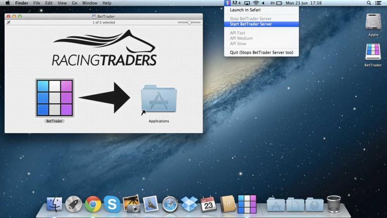 Bet Trader on Mac
