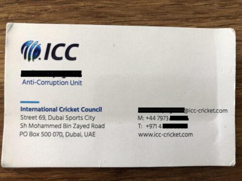 ICC Anti-Corruption Unit