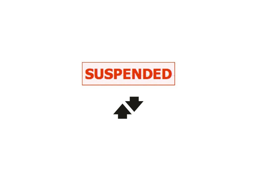 Betfair Logo Supsended Account
